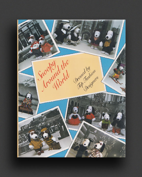 Snoopy Around The World - Dressed by Top Fashion Designers | World Food Books