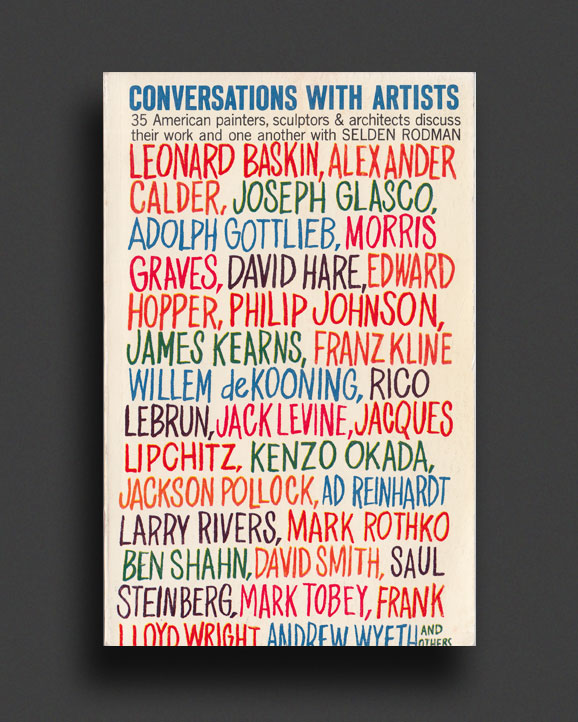 b5888a2e Conversations with Artists | World Food Books