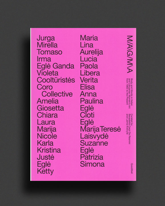 062a3f99a0041d Magma - Body And Words In Italian And Lithuanian Women's Art From 1965 To  The Present | World Food Books