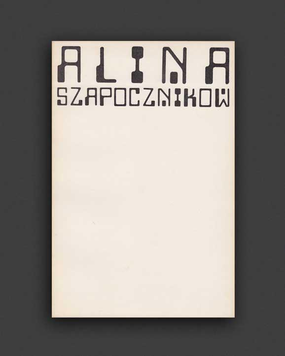 7ce61d4964b Alina Szapocznikow