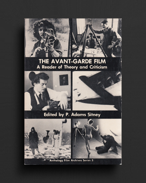 THE AVANT-GARDE FILM : A Reader of Theory and Criticism | World Food Books