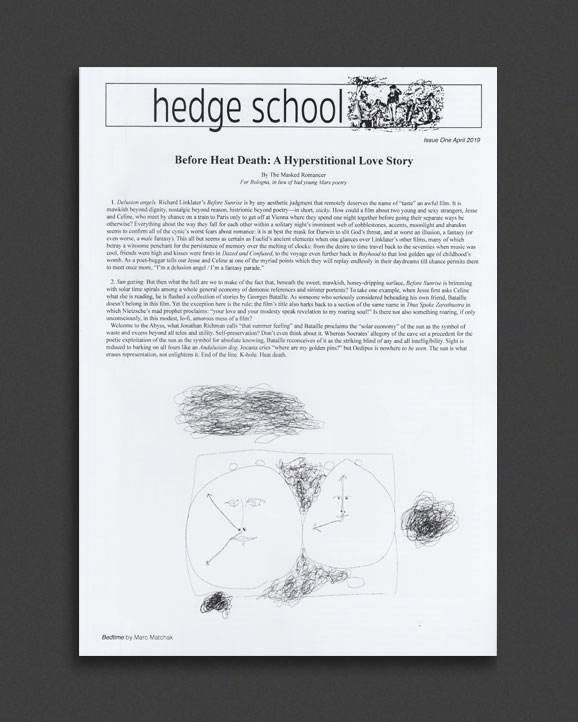 Hedge School Issue One | World Food Books