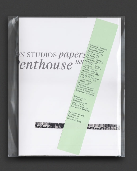 3594c49f Advanced Fashion Design Studio Papers issue 1 | World Food Books