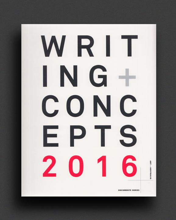 aee778e4022 Writings + Concepts Vol. 1